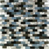 2016 alluminio Alloy & Glass Mosaic con Strips Shape
