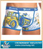Garçons Cotton Cartoon Printing Underwear avec Custom Logo