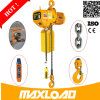 grua elétrica elétrica da porta da corda de fio da qualidade superior de grua Chain da grua da alavanca 0.5ton