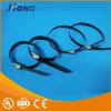 Individu-Serrure enduite d'Attacher-Boule de câble d'acier inoxydable de PVC