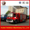 пожарная машина цистерны с водой 190HP 6m3 с баком пены 2m3