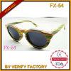 Form-Bambus-und Holzrahmen-Sonnenbrillen (Fx54