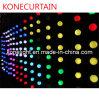 Koord van de binnen het Gebruikte LEIDENE Bal van het Pixel voor Kerstmis