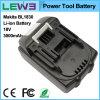 Batería de 18650 herramientas de mano
