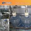 5 máquina de Fillling del agua potable del galón 300bph