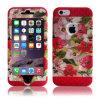2015 het Nieuwe Geval van de Telefoon van het Bewijs van de Schok van de Laag van de Verdediger van het Ontwerp Drievoudige voor iPhone 6