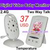 Monitor de dos vías del sueño del bebé de la charla (VB602)