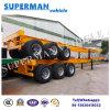 Del Vietnam dell'Tri-Asse 40FT del contenitore del camion rimorchio scheletrico semi per porta