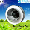 7 Blade를 가진 316mm Small Nylon PA Centrifugal Fan