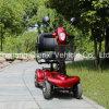 (ST098) scooter plié de mobilité électrique de 4 roues vieux