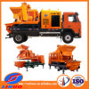 V8 dwong Mini Mengende Fabrikanten van de uitrusting/Mobiele Concrete het Mengen zich Installatie