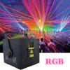 equipo de DJ de la iluminación de la etapa del laser de 8W RGB