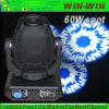 Attraktiver 60W LED Minipunkt-bewegliches Hauptlicht