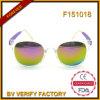 F151018 FDA van Ce UV400 van de Zonnebril van het Kristal van de Transparantie