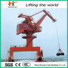 Port Loading & Unloading оффшорное Pedestal Port Crane с 360 степень Rotation