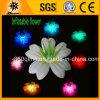 Fiore chiaro gonfiabile variopinto di vendita caldo del pavimento del LED (BMLB79)