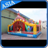 New Design Durable Inflatable Circus Fun City / Inflatable Circus Obstacle House
