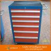 Шкаф инструмента стальной завальцовки разнослоистых ящиков сверхмощный
