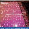 304 Farben-Edelstahl Decorative Sheet für Bathroom Cabinet