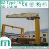 2016 la grue électrique BZ portatif dactylographient à grue de potence 16 tonnes