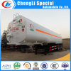 Kohlenstoff Steel BPW Fuwa 3-Axle 45000liters Fuel Tank Trailer für Sale