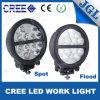 '' indicatore luminoso del lavoro del CREE LED di figura rotonda 8 resistente
