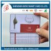 Carta di plastica stampata su misura del PVC di buona qualità di prezzi di fabbrica