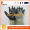 Отрежьте нитрил Dcr320 перчаток сопротивления черный
