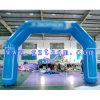 Haken-u. Schleifen-aufblasbarer Bogen/blauer aufblasbarer Bogen/Öffnungs-aufblasbarer Bogen