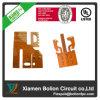 Double carte à circuit imprimé flexible latérale de fabrication