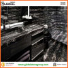 Silver nero Portoro Marble Vanity Top per Home Bathroom