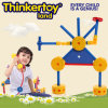 Educational prescolare Plastic Build Block Toy per Kids