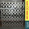 Façades perforées décoratives extérieures panneau et revêtements de mur rideau d'aluminium