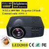 1500 lumens DEL 1080P Mini Multimedia Projector pour Home