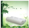 Oreiller en bambou de mémoire de fibre, oreiller lent de soins de santé de rebond