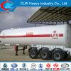 Heavy Duty Asme Standard Tri-Axle LPG Tanker Semi-Trailer