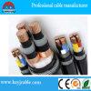 Cable électrique blindé de gaine noire de PVC d'appareils électriques