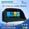 7 polegadas no Dash Car DVD Player para Ford Fiesta com GPS Radio Phonebook Bluetooth