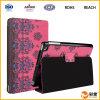Fuente de cuero del fabricante de Dongguan de la cubierta de la tableta de la PU