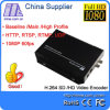 鉱山E1003 Factory Direct Sales H. 264 3G HD SD Sdi Video Encoder IPTV Live Stream Broadcast Rtmp HTTP Rtsp 1080P 60Hz Encoder