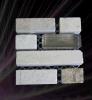 Wall Decoration (8822)のための普及したMini Stone Glass Border Mosaic