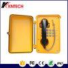 O sistema análogo Knsp-01 de Koontech Intercon protege contra intempéries o telefone impermeável do telefone