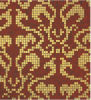Azulejo del patrón de mosaico del oro de Bisazza para la decoración de la pared (HMP647)