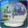 Snowing gonflable Globe, Christmas Show Ball Dome pour Decoration