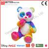 O urso colorido da peluche do luxuoso enchido brinca o urso macio para miúdos
