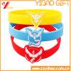 La vendita calda imprime incide i braccialetti del silicone per i regali di promozione