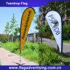 2016 bandiere di pubblicità della bandierina di spiaggia di volo, bandierina del Teardrop, bandiera della visualizzazione