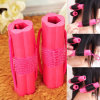 6PCS/Lot Pink Red Sponge Hair Roller Styling Curler (HEAD-129)