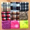 100%年のポリエステル羊毛毛布の羊毛の毛布によってカスタマイズされるロゴ