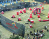 Grade commercial Inflatable Paintball Bunker pour Sports Game